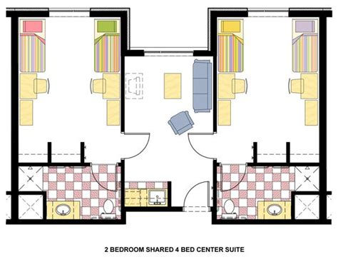 layout above dorm room layout the above image is the standard room