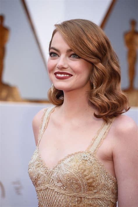 emma stone emma stone oscars 2017 red carpet in hollywood