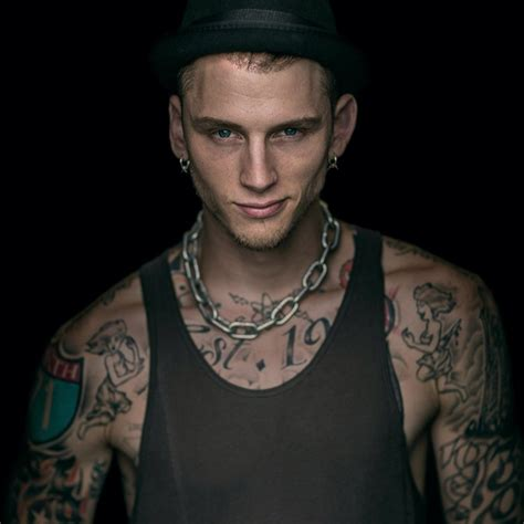 machine gun tattoo pics for gt mgk back