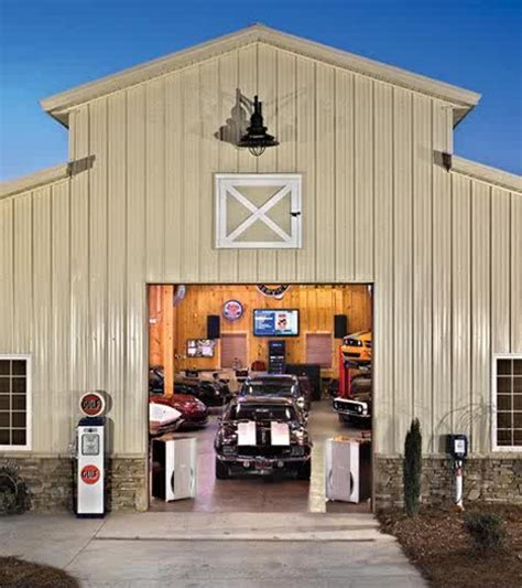 cool barn designs very cool garage the ideal garage pinterest