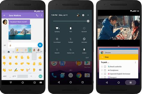 android 7 0 name android 7 nougat with nexus devices rolled out more emoji features