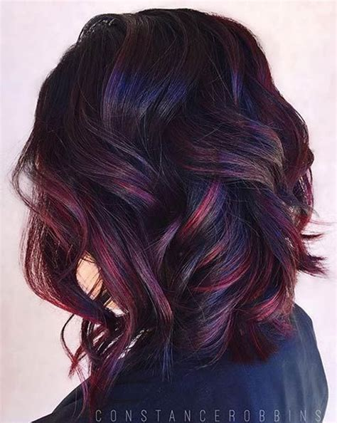 50 brilliant balayage hair color ideas thefashionspot 1000 ideas about dark red balayage on pinterest cherry