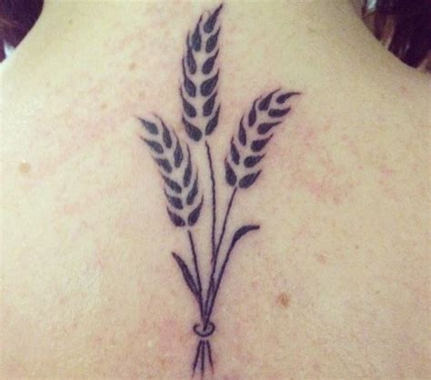 wheat tattoo designs 32 unique wheat stalk tattoos