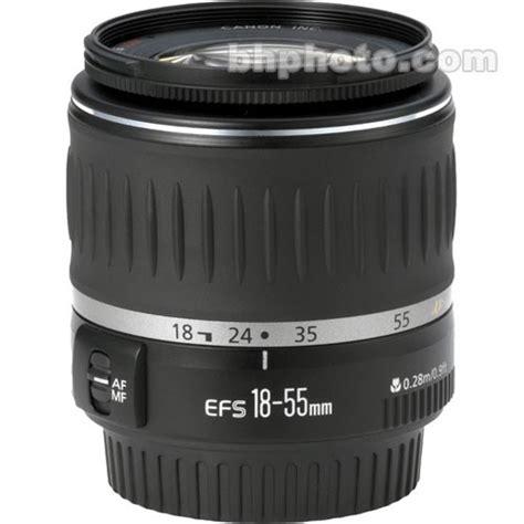 Ew60 C For Canon 18 55mm F3 5 5 6 Canon 18 55mm F 3 5 5 6 Ef S Usm Lens 9475a002 B H Photo