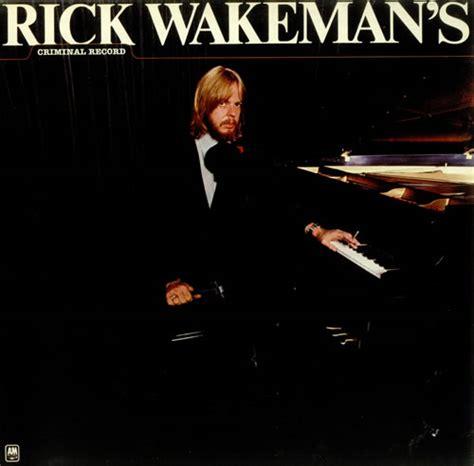 M Kong Criminal Record Rick Wakeman Criminal Record Uk Vinyl Lp Record Amlk64660