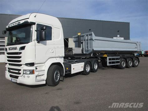 used scania r 580 maur tippsemi leveringsklar tractor