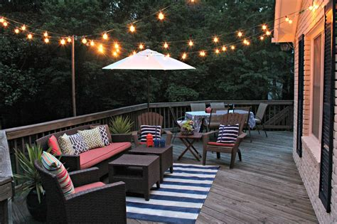 Spring Projects Living In Pursuit Deck Lights String