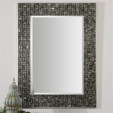 bathroom mirror mosaic 17 best images about uttermost mirrors on pinterest gold