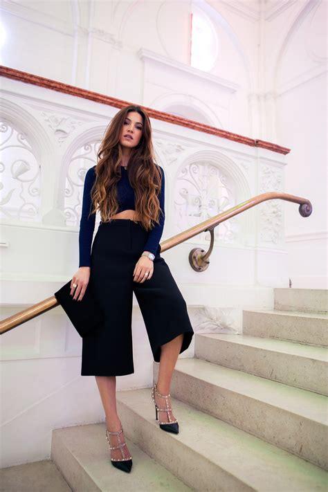 Cut Culottes Kulot Wanita Zara negin mirsalehi how to create a boxy and structured