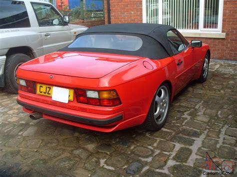 porsche 944 convertible 1989 porsche 944 s2 convertible guards