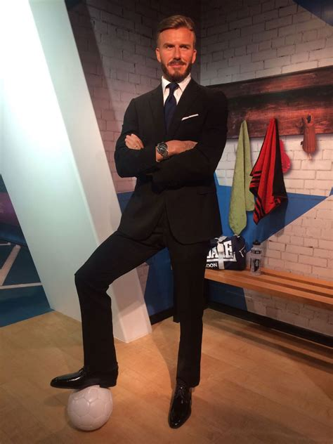 Beckham Immortalized by Pics Melania S Wax Figure Unveiled At Madame