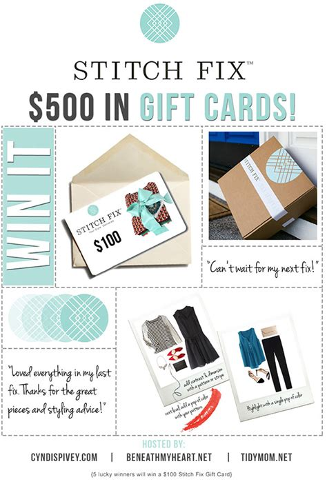 Stitchfix Gift Card - grace beauty inspiring women to be beautiful from the inside out