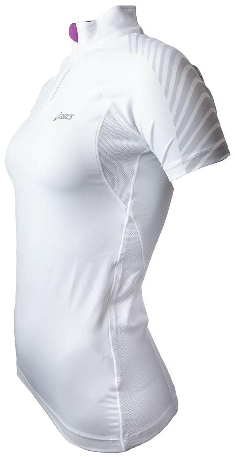 Kaos T Shirt Asics Km Banaboo Shopping asics 1 5 zip top womans 612214 bestellen bij skate dump nl