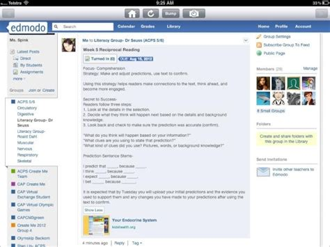 edmodo library tutorial 99 best edmodo and me images on pinterest social