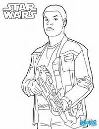 Coloriage Star Wars  Finn &201pisode 7
