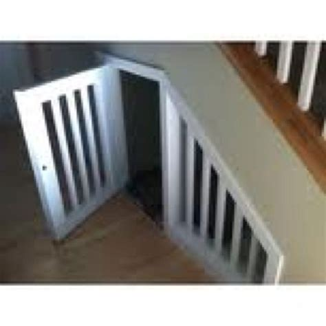 staircase dog house under the stairs dog house pets pinterest