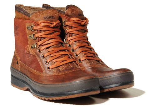 leather walking boots fashion belief