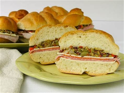 Wich Of The Week Muffaletta by Muffuletta Sandwich Recipes Dishmaps