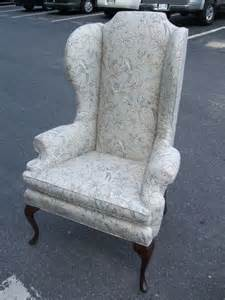 Highback Armchair High Back Wing Chair At 1stdibs