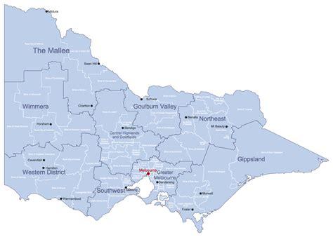 printable maps victoria map australia