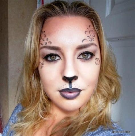 imagenes de halloween para el rostro maquillaje de leopardo para halloween 2017 paso a paso