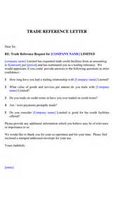 Market Trader Cover Letter by Trade Reference Letter In Word And Pdf Formats