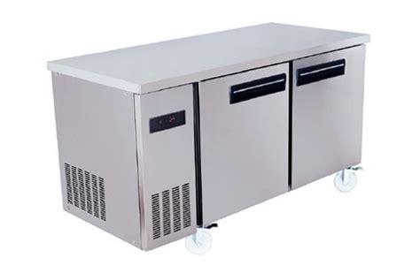 Chiller Counter 2 Door Tz 200 2 door undercounter refrigerator freezer samemax