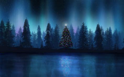 wallpaper para pc tumblr imagem de fundo 193 rvore de natal no meio da floresta