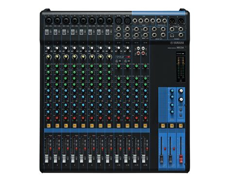 Audio Mixer Yamaha 16 Channel yamaha mg16 16 channel analog stereo mixer with compressor proaudiostar ebay