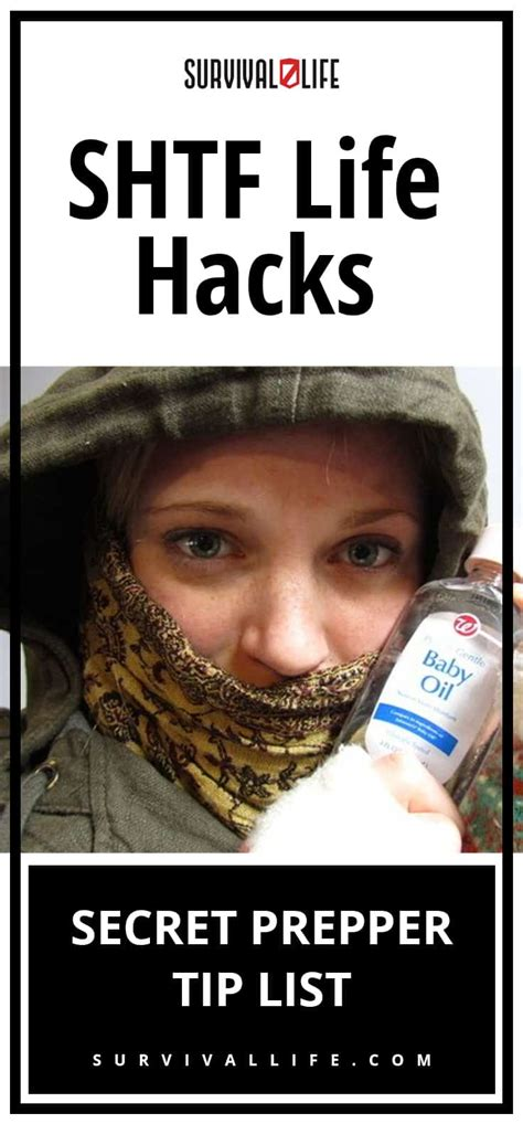25 life hacks you need to know mailsgrid shtf life hacks prepper tip list survival life
