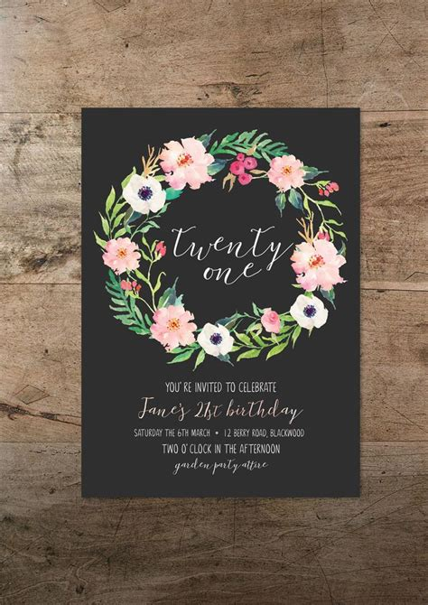 25 best ideas about debut invitation on pinterest