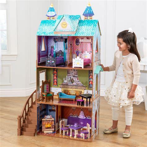 disney frozen doll house kidkraft disney 174 frozen arendelle palace litenleker se