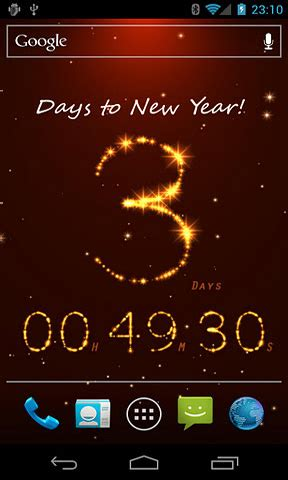 new year live wallpaper die besten android apps f 252 r silvester neujahr 24android