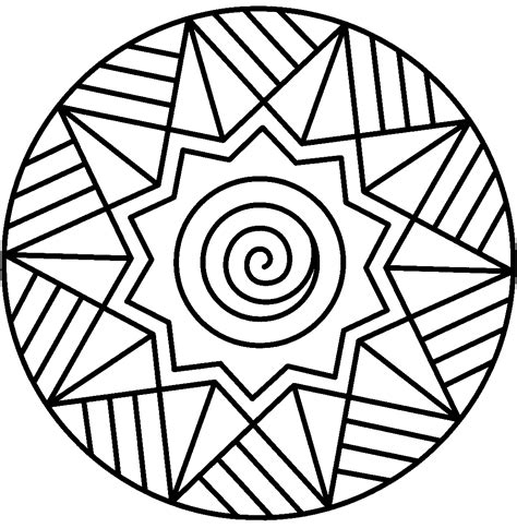 abstract coloring pages simple elegant abstract coloring pages easy mandala coloring
