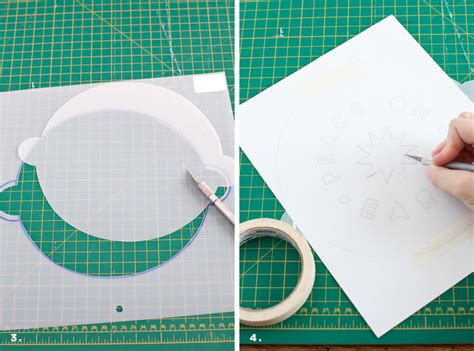 through cut up sheets and dresses rather dodgy face diy cake beverage stencil a beautiful mess