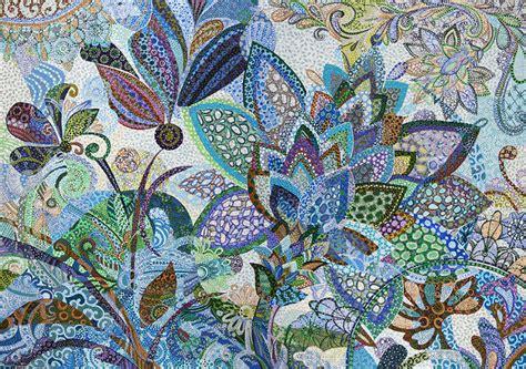flower pattern painting erika pochybova johnson paintings