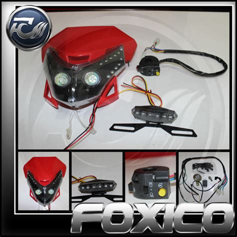 pit bike light kit products foxico the and dirt bike specialist