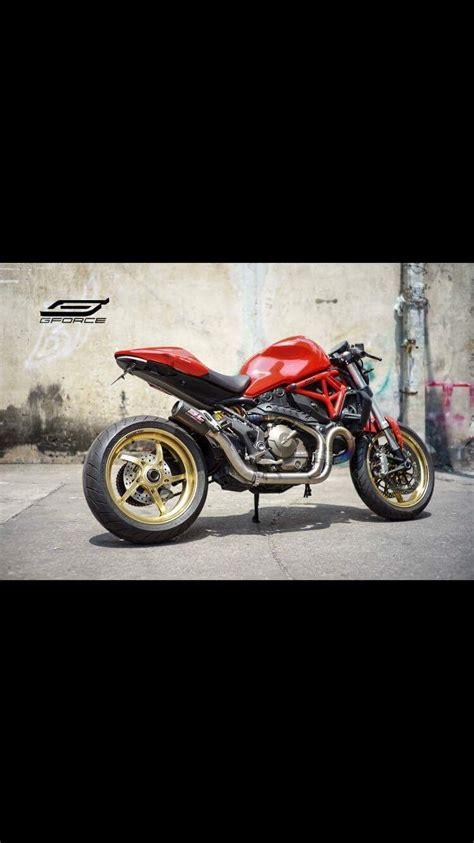 Motorrad Fahrwerk Umbau by Monster 821 Umbau Auf Einarmschwinge Fahrwerk Und Reifen