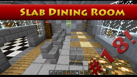 How To Make Dining Room In Minecraft Minecraft Tutorials Minecraft Tutorial 18 How To