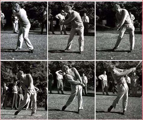 ben swing ben swing sequence caddy view golf