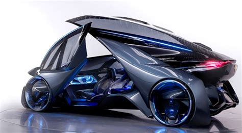 this chevrolet fnr concept car is science fiction made