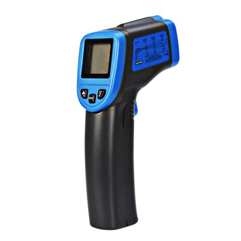 Termometer Digital Infrared st600 32 600 non contact laser lcd display digital ir infrared thermometer temperature meter