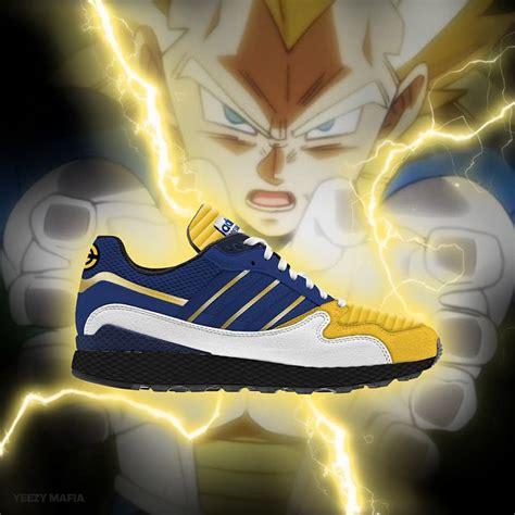 goku and vegeta just got adidas x z collab sneakers unpacked