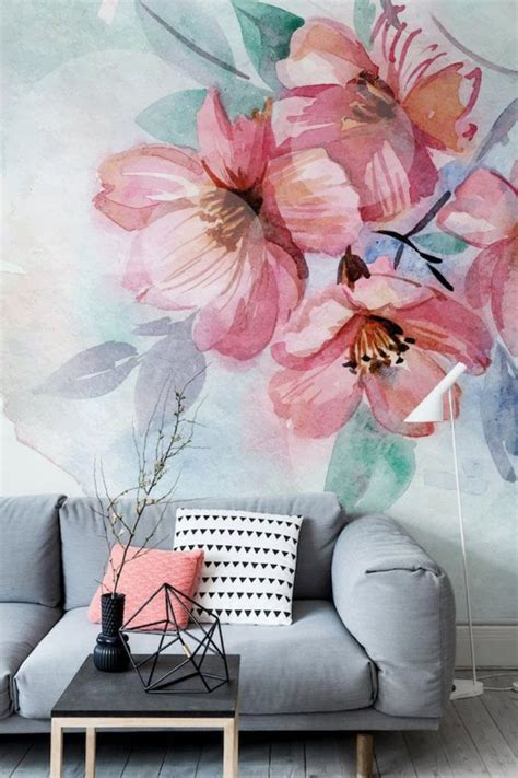 floral wallpapers   bring  outdoors