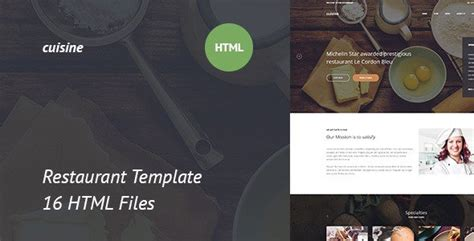 template after effects restaurant cuisine restaurant html template free download free