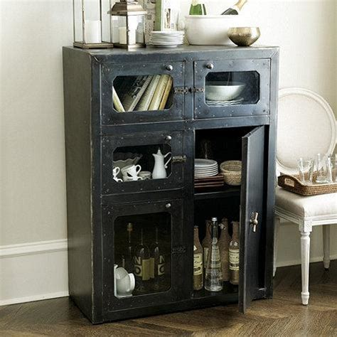 Industrial Style Bar Cabinet Amsterdam Industrial Iron Cabinet