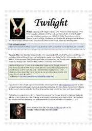 book report on twilight worksheet twilight the book and