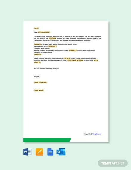 salary certificate letter template word google