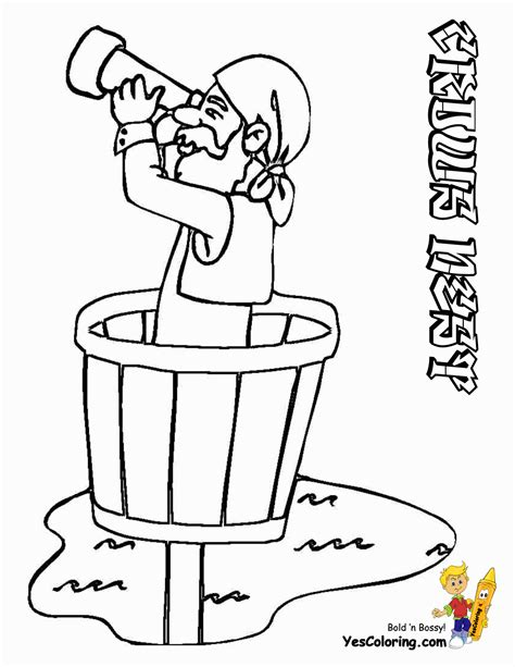 pirate boy coloring page boy pirate coloring page