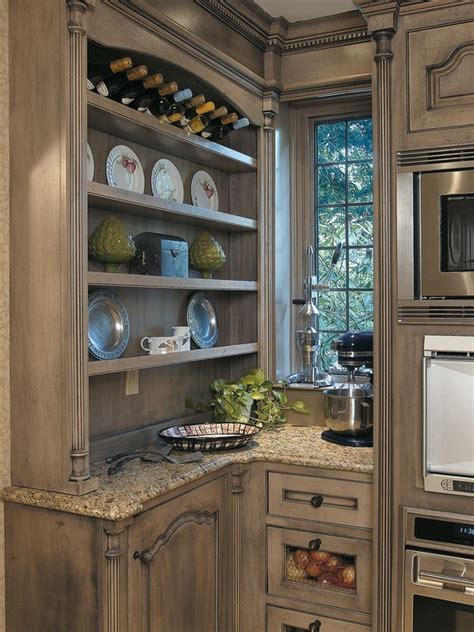 Distressed Wood Kitchen Cabinets by Beauty Of Distressed Furniture Decozilla